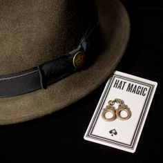 Making hat dreams come true, we've crafted a limited edition Hat Magic pin (and many more!) to perfectly pair with your fedora, cloche or flat cap.