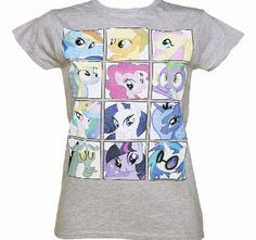 TruffleShuffle Ladies My Little Pony Friendship Is Magic Faces Weve joined the coolest gang in town - and produced this awesome Friendship is Magic t-shirt, paying homage to all the ponies. Are you a fan of My Little Pony? Must have for all lovers of MLP! http://www.comparestoreprices.co.uk/t-shirts/truffleshuffle-ladies-my-little-pony-friendship-is-magic-faces.asp