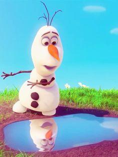 Olaf dans la reine des neiges le plus marrant des personnage je trouve