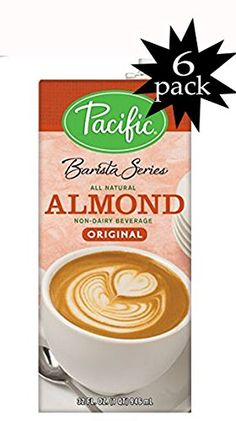 Pacific Barista Series Original Almond Beverage 32 Oz - Pack of 6 >>> Learn more by visiting the image link.