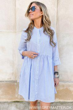 Cute Modest Outfits, Cloud Dancer, Striped Dress, Blue Stripes, Leggings, Shirt Dress, Chic, My Style, Shirts