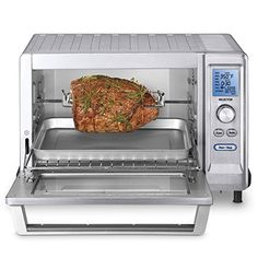 toaster feet convection cubic tob oven brushed deluxe stainless broiler cuisinart ip