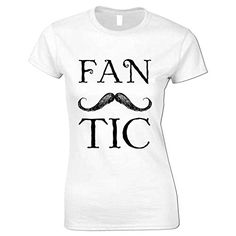 82a84454 Moustaches, Facial Hair, Bangs, Funny Tshirts, Amazon, Clothes For Women,  Clothing, T Shirt, Tops