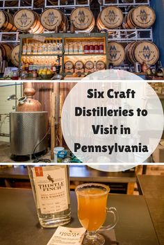 Craft distilleries are booming in Pennsylvania. Here's a look at six where you can take a tour and taste their products.