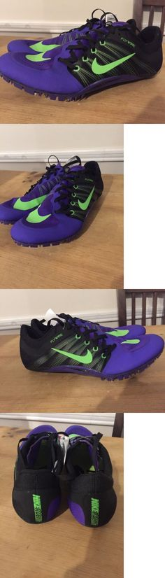 Track and Field 106981: New Nike Zoom Ja Fly 2 Purple Black Green Track And Field Spikes Shoes Mens Sz 10 -> BUY IT NOW ONLY: $59.95 on eBay!