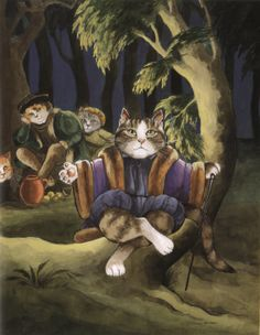 """As You Like It"" by Susan Herbert from ""Shakespeare Cats"""
