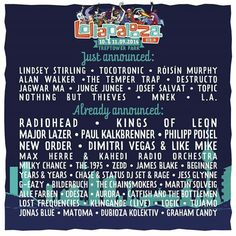 New additons to the #LollapaloozaBerlin festival line up