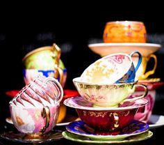 a little tea with dessert?