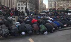 VIDEO: Thousands Of Muslims Take Over Streets Of NYC In Islamic Call To Prayer; Speaker Yells ALLAHU AKBAR!  Ryan Saavedra Feb 2nd, 2017