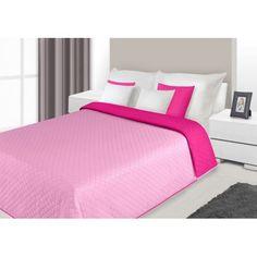 Prehoz na posteľ ružovej farby s prešívaným vzorom Alex Grey, Hotel Bed, Bedding Sets, Luxury, Furniture, Home Decor, Blankets, Beautiful, Decoration Home