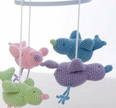 bird mobil | Search Results | Free Amigurumi Patterns