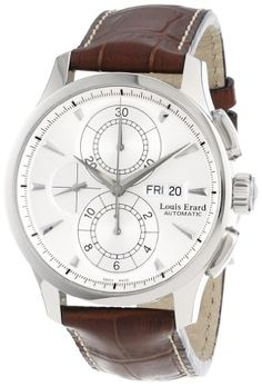 Louis Erard Men's 78220AA01.BDCL50 1931 Stainless Steel and Brown Leather Automatic Watch Louis Erard,http://www.amazon.com/dp/B005MVFHSW/ref=cm_sw_r_pi_dp_1tTktb1HMHSX23DD
