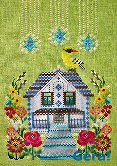Gera! The House with the Mezzanine Cross Stitch