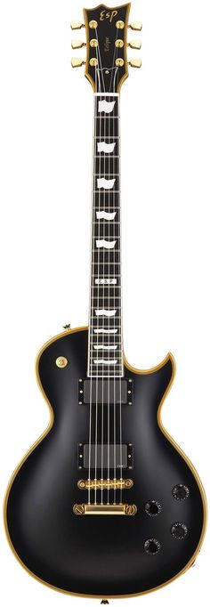 ESP Eclipse-I CTM Electric Guitar Vintage Black #esp #guitar
