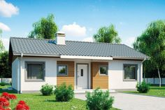 Dzięki prostej, zwartej bryle dom Z7 można wybudować szybko i ekonomicznie. Fot. Z500