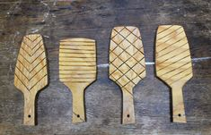 Matthew Krousey shows how to make custom clay texture tools from scrap wood and a few basic woodworking tools.
