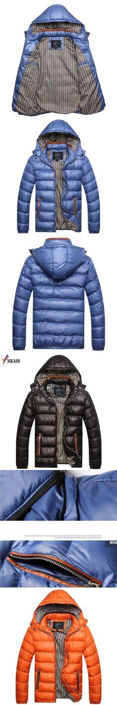 2017 Hot Brand Winter Jacket Men Warm Down Jacket Casual Parka Men padded Winter Jacket Casual Handsome Winter Coat For Men