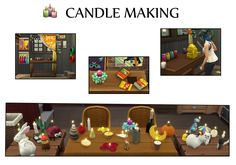 Mod The Sims - Candle Making
