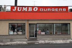 Jumbo Burgers:   Categories: Hot Dogs, Burgers, Fish & Chips   685 Runnymede Rd  Toronto, ON M6S 3A4  Neighbourhood: The Junction  (416) 763-6961