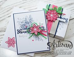 Cards created by a member of the Stampin' Up! Artisan Team from around the world of stamping!