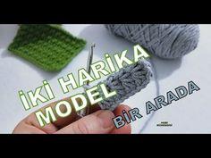BEKLEDİĞİNİZE DEĞSİN DİYE TORPİL GEÇTİM😉 2 HARİKA MODEL, TEK VİDEO👌2 GREAT #KNITTING #MODEL#örg - YouTube Fingerless Gloves, Arm Warmers, Bandana, Knitting, Youtube, Dots, Tunisian Crochet, Potholders, Mittens