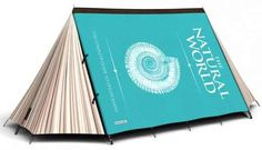 Tent that looks like a book! Designed by Jack Maxwell.