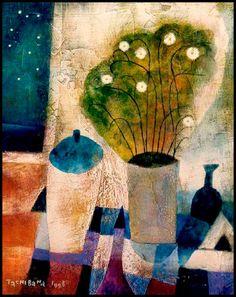 Yoshiro Tachibana, 1941 ~ Naif painter