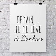 #boost #ledeclicanticlope / Demain je me lève de bonheur