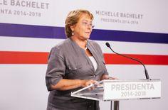 Michelle BACHELET. Presidenta de Chile  (2006 - 2010; 2014 - )