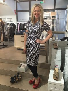 Calou shoes and Jumperfabriken dress