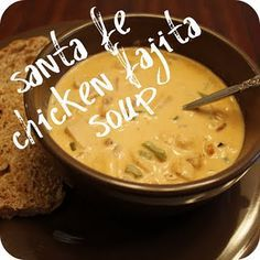 Santa Fe Chicken Fajita Soup!!