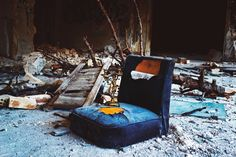 an abandoned sanatorium in Athens