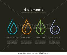 logo water - logo wall _ logo wallpaper _ logo whatsapp _ logo wall design _ logo w _ logo wedding _ logo water _ logo wood Element Tattoo, 4 Elements, Elements Of Nature, Logo Nature, Tattoo Nature, Erde Tattoo, Tatoo Symbol, Typographie Logo, Whatsapp Logo