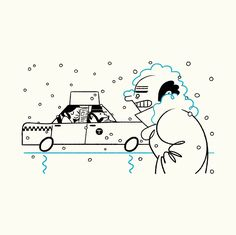 The New Yorker Winter Tips on Behance