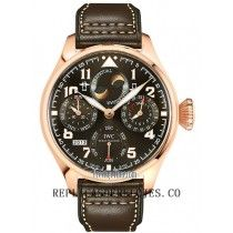 IWC Big Pilot's Hombres de Saint Exupery calendario perpetuo reloj IW502617