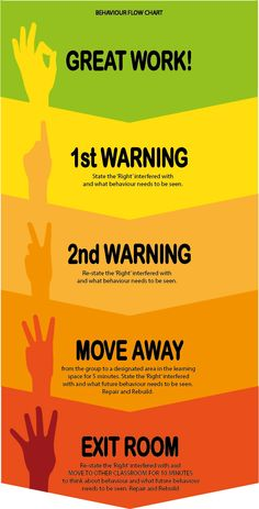 Behaviour flow chart