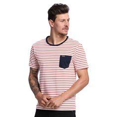 Camiseta Masculina Listrada - Damyller