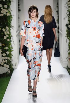 Look 11: Mulberry Spring Summer 2014 #LFW