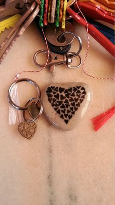 Place for All Hearts Fridge Magnet, River Pebble Magnet, Original Stone Rock, Love Keychain, Unique Surprise, Handmade with Love Charm Gift