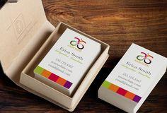 Arbonne Business Card Template - Independent Consultant Business Branding & Marketing - Arbonne Color Blocks Business card