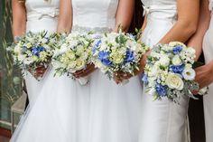 Kathleen's gorgeous wedding flowers by Wisteria lane.