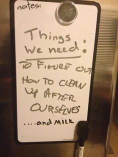 20 Hilarious Passive Aggressive Roommate Notes: These Are Some of the Best Funny Roommate Notes Ever