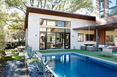 Modern house in Dallas, by Risser Design + Development Architects Design Build Maplehill Residential #house #architecture #modern #modernhomes #home #homes #house #houses #dreamhome #dreamhomes #dreamhouse #dreamhouses #incredible #architecture #architect #realestate #luxury #living #exterior #interior #pool #outdoor #outdoorliving