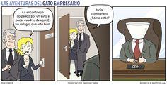 Business Cat - Recuperación