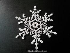 Third Red Mug Snowflake