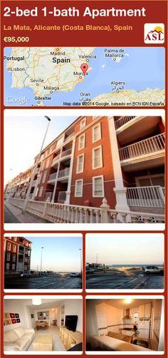2-bed 1-bath Apartment in La Mata, Alicante (Costa Blanca), Spain ►€95,000 #PropertyForSaleInSpain