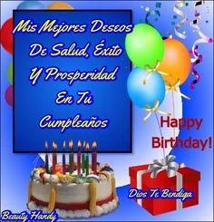 Happy Birthday Greetings Friends, Happy Birthday Pictures, Happy Birthday Messages, Birthday Quotes, Feliz Compleanos, Morning Greeting, New Baby Products, Birthdays, Amor