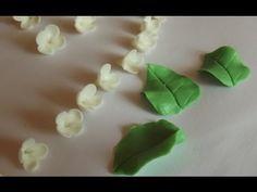 Два вида листочков БЫСТРО и ПРОСТО без специализированных инструментов! / Polymer clay - YouTube