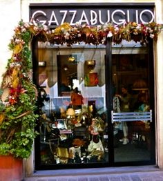 Gazzabuglio. What a holy mess but by god! its designers vintage paradise! You go in without anything in particular in mind, you go out with something for sure. I love the bags, Hermes and Gucci in particular.