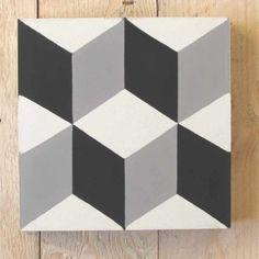 Ceramic Mosaic Tile, Stone Mosaic Tile, Mosaic Glass, Cement Tiles, Cubes, Moroccan Art, Italian Tiles, Black And White Tiles, Geometric Tiles